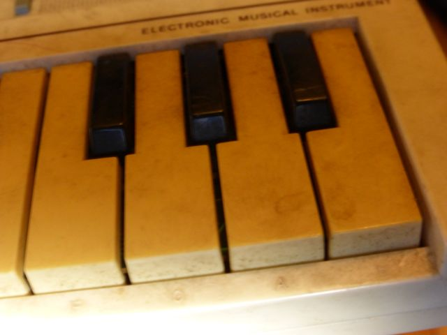 Casio PT-1 Keys
