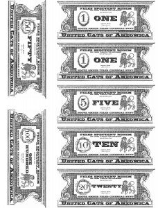 Cat Cash Reverse (Back)