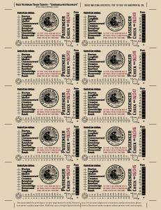 Confabulated Railways Tickets